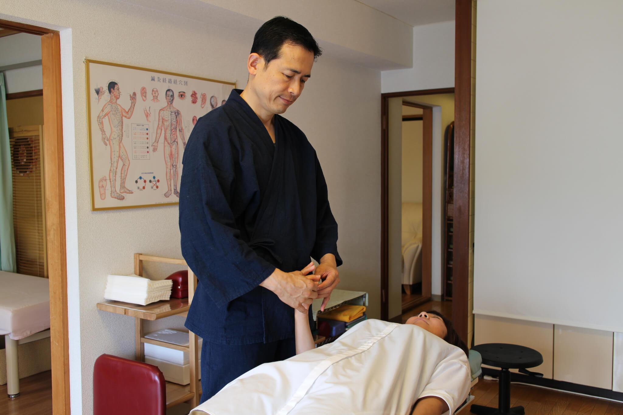 札幌整体治療院 谷井治療室 キネシオロジーテスト画像