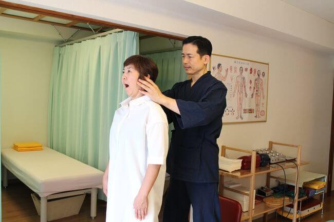 札幌整体腰痛・肩こり治療院 谷井治療室 顎関節検査画像