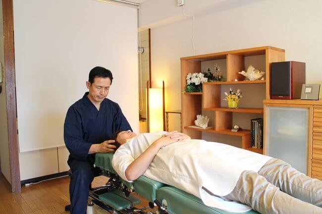 札幌整体腰痛・肩こり治療院 谷井治療室 触診検査画像