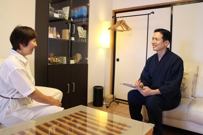 札幌整体腰痛・肩こり治療院 谷井治療室 問診画像