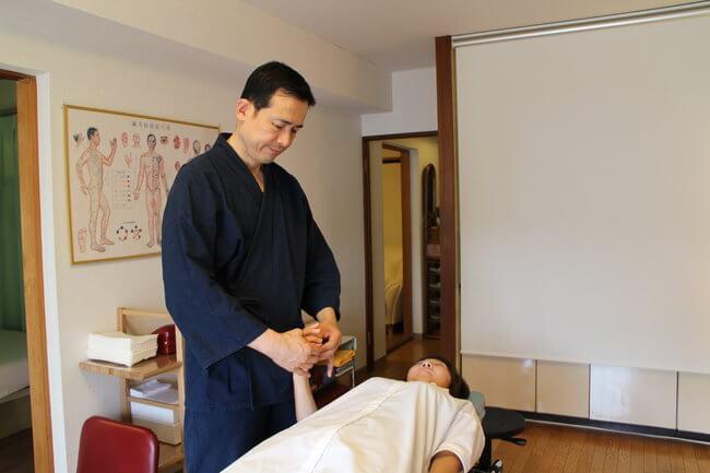 札幌整体腰痛・肩こり治療院 谷井治療室 Oリング検査画像