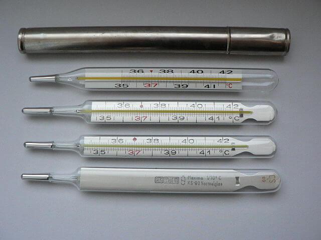 札幌整体治療院 谷井治療室 体温計画像