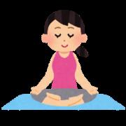 瞑想イラスト